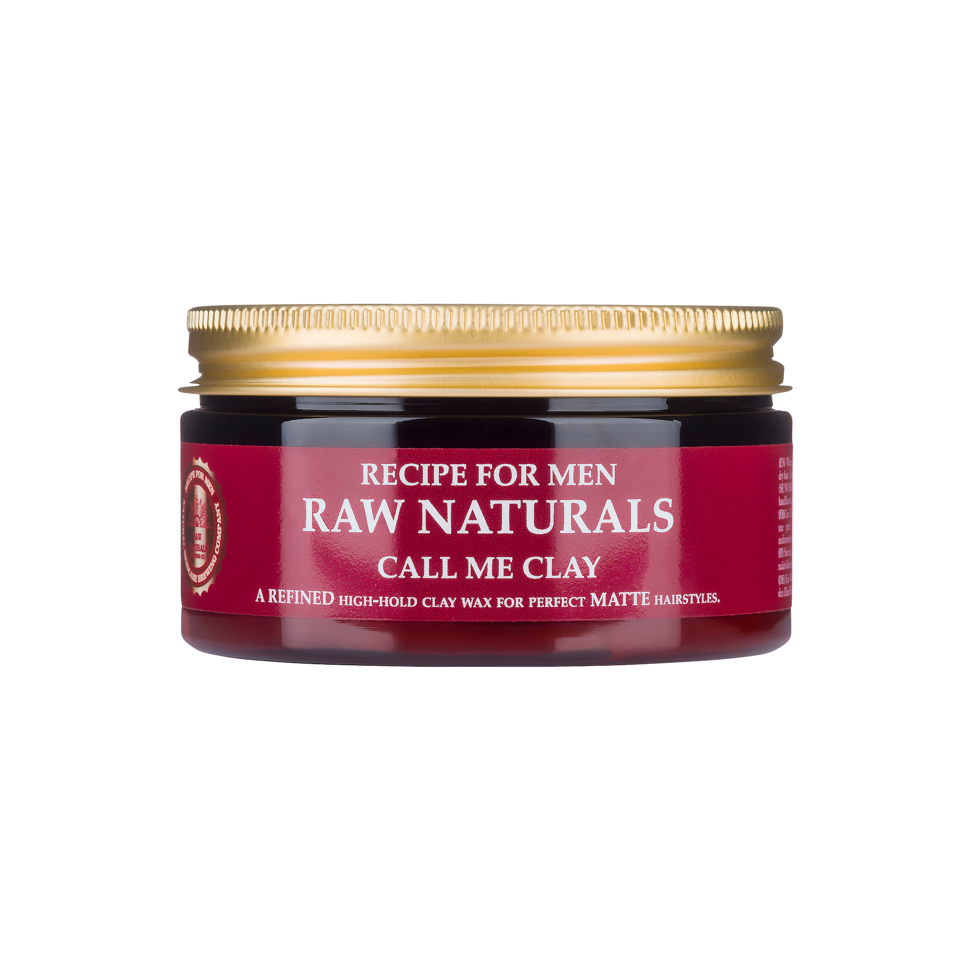 RAW Naturals Styling Wax Call RAW Naturals Styling Wax Call Me Clay:100 ml