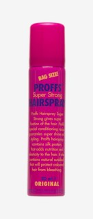 Super Strong Hair Spray 80 ml Bag Size