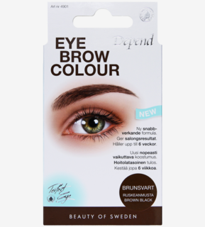 Eyebrow Colour Brown black