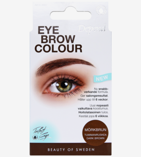 Eyebrow Colour Dark brown