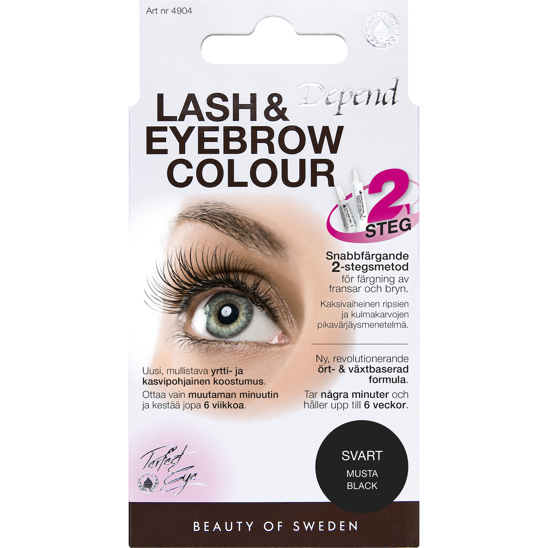 Lash and Eyebrow Colour Black