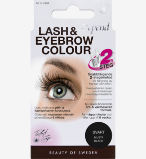 Lash and Eyebrow Colour Black