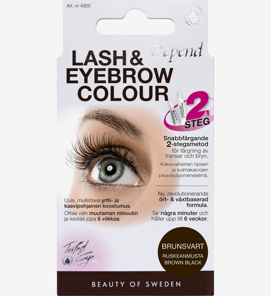 Lash and Eyebrow Colour Brown Black
