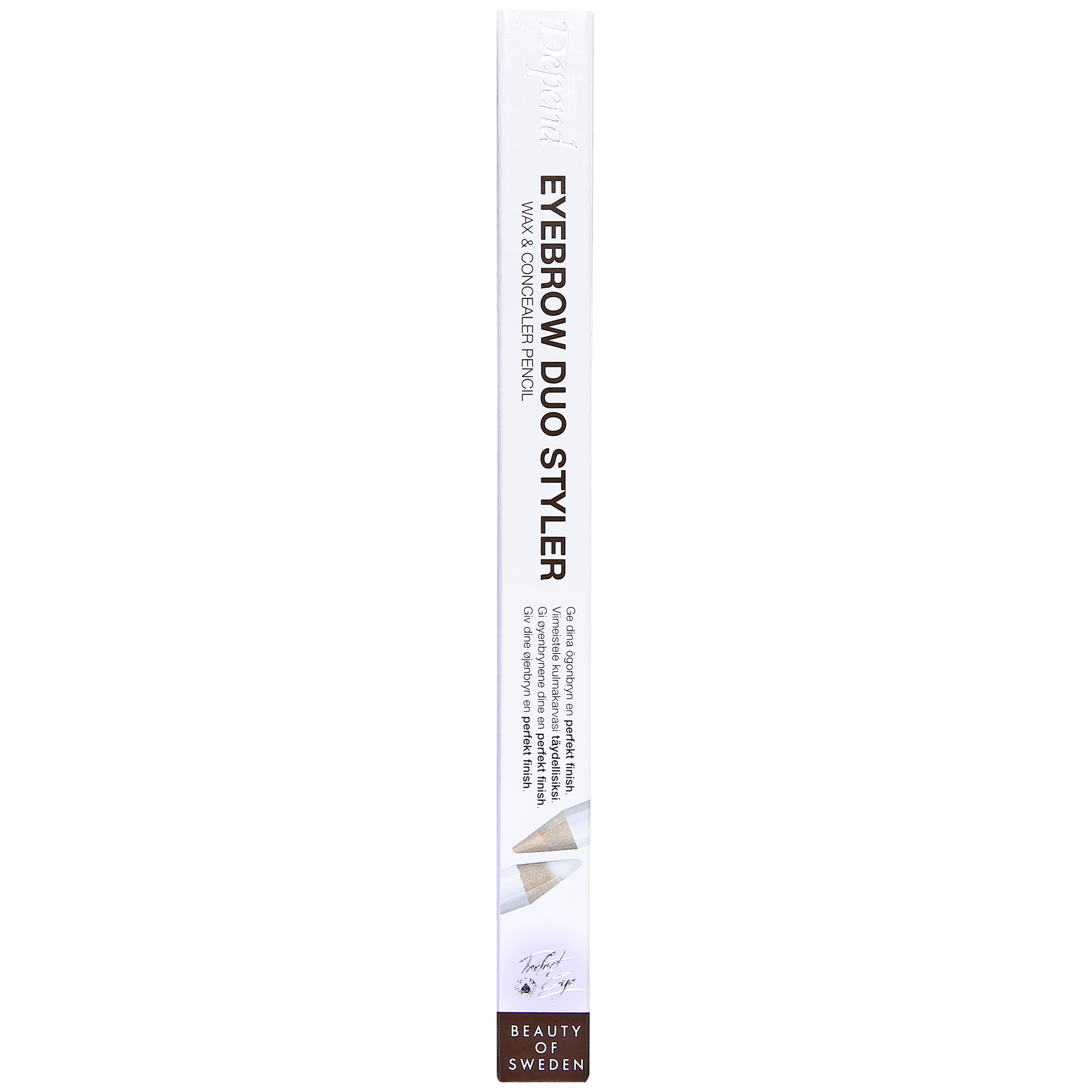 Eyebrow Duo Styler Wax & Concealer Pencil