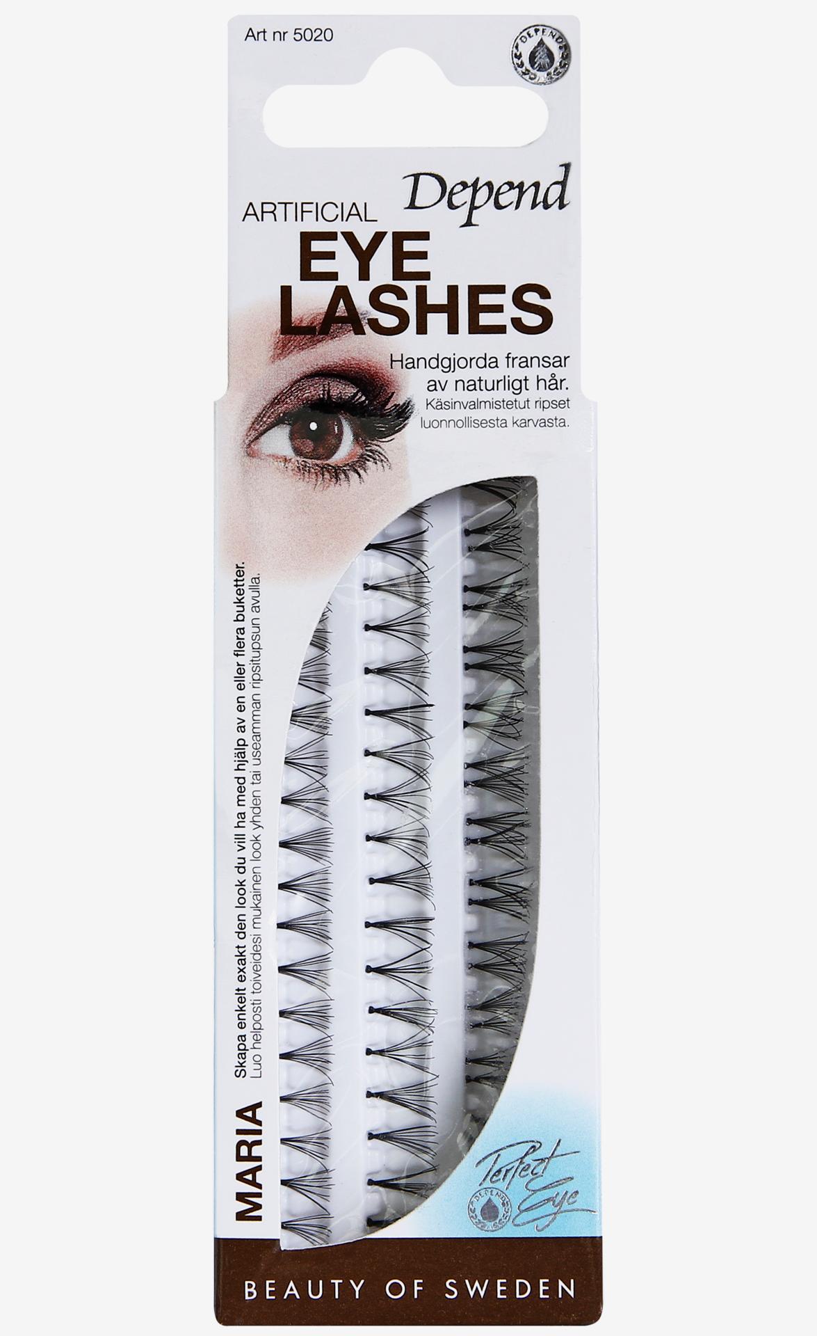 4f19c9199c0 Artificial False Lashes Maria - Depend - KICKS | Azurelink.org