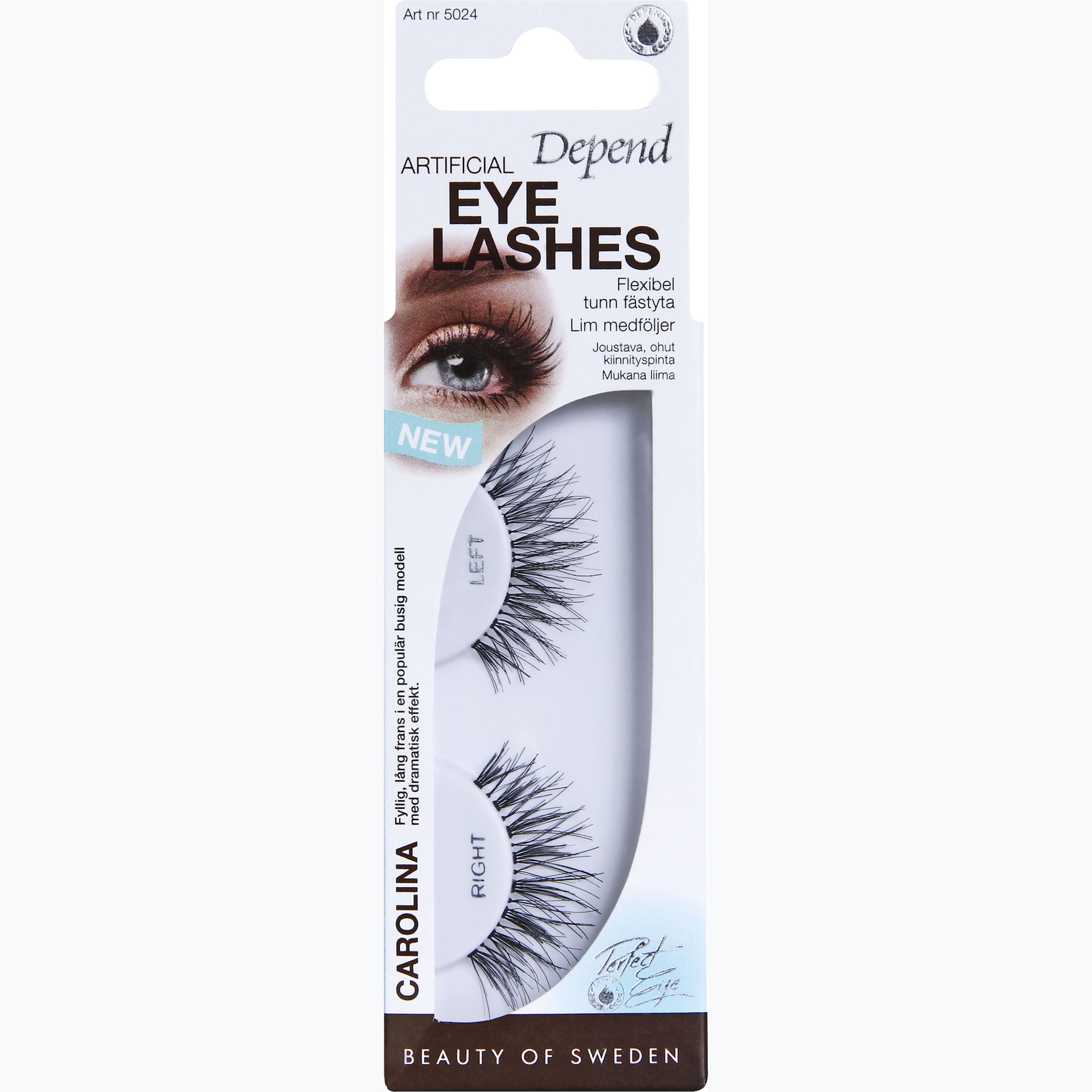 Artificial False Lashes Carolina