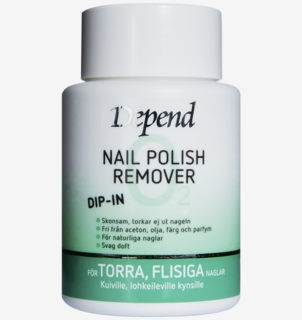 Dip-in Remover Dry Nails 75 ml
