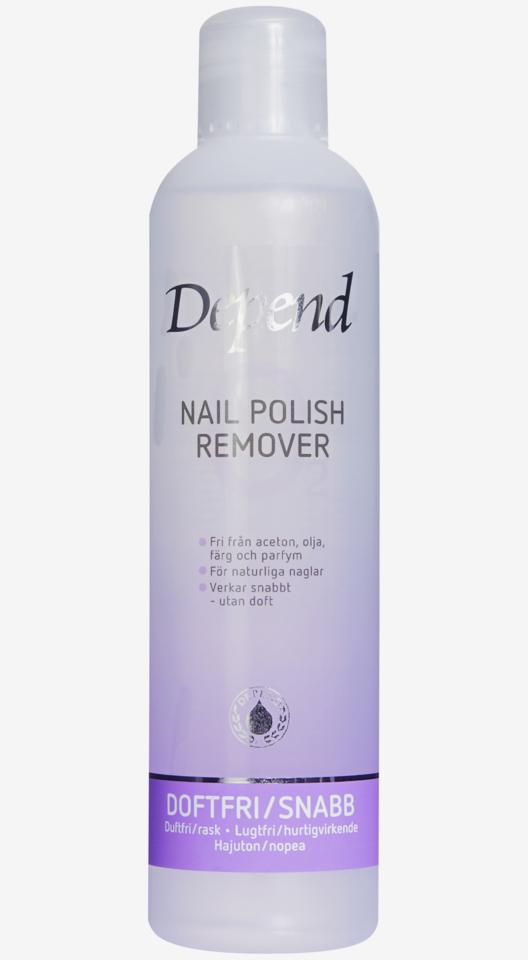 Nail Polish Remover Fragrance Free 250ml