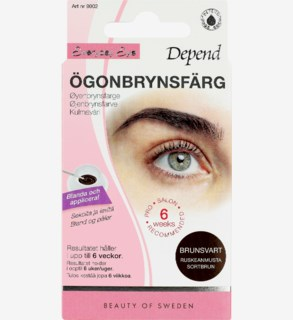 Everyday Eye Eyebrow Colour Permanent lash colour Brunsvart