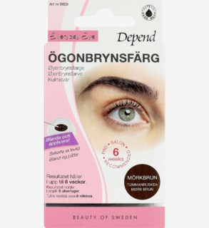 Everyday Eye Eyebrow Colour Dark Brown