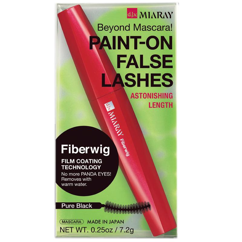 Paint-on False Lashes Mascara Pure black