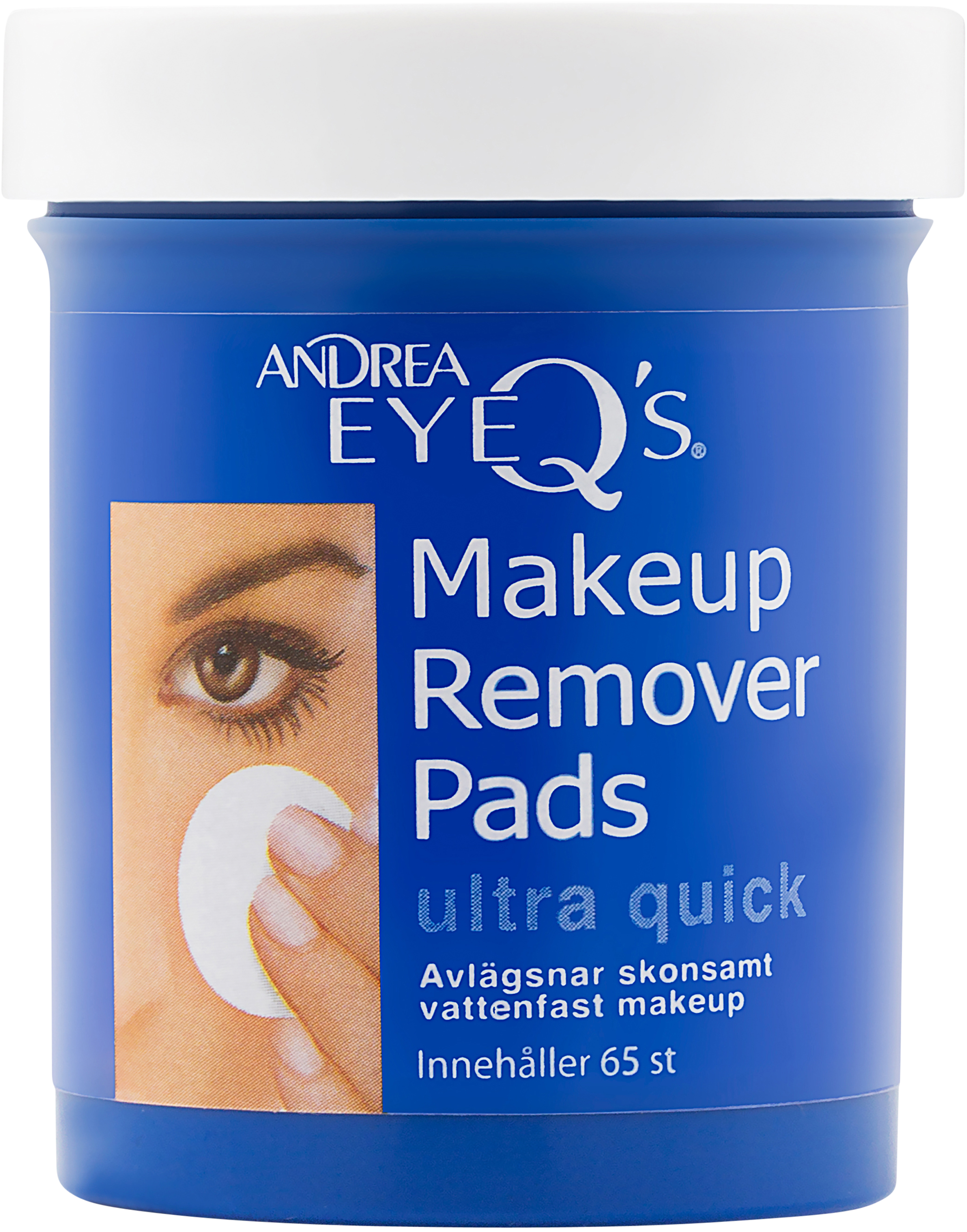 Eye-Q´s Remover Ultra quick pads Ultra quick 65st