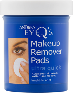 Eye-Q´s Remover Ultra quick pads Ultra quick 65 st