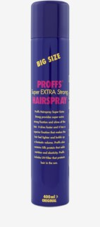 Super Extra Strong Hair Spray 400 ml Big Size