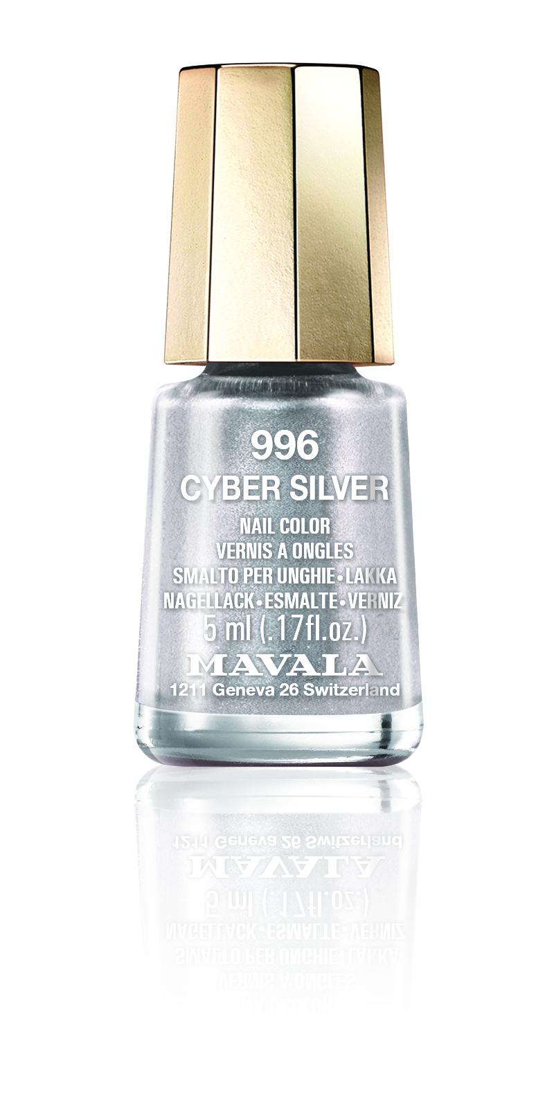 Mavala Minilack Mavala Minilack Cyber Silver 5ml