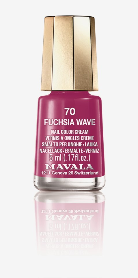 Minilack Fuchsia Wave