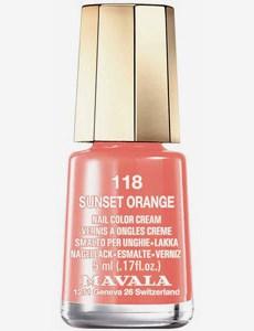 Minilack 118 Sunset Orange