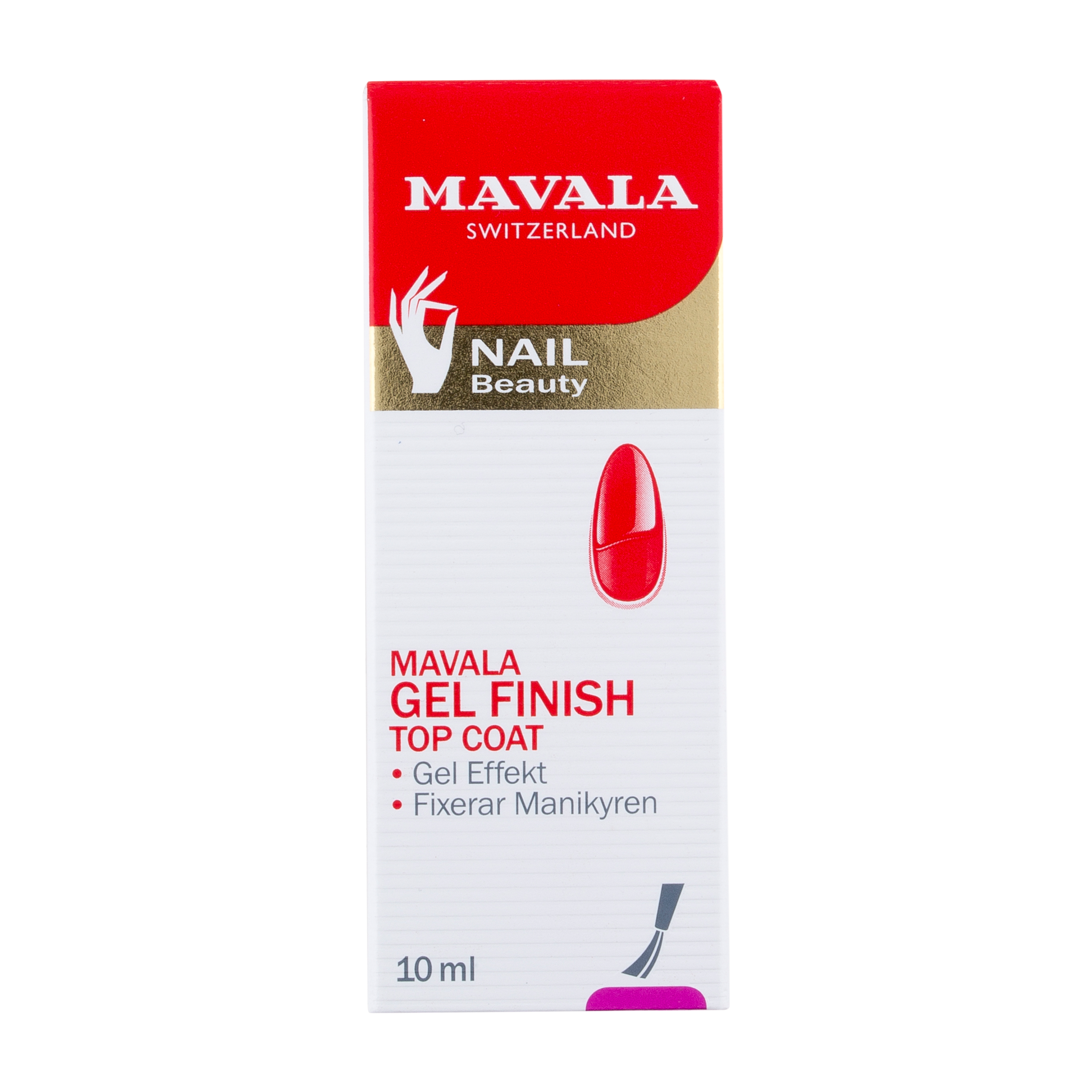Gel Finish Top Coat Mavala Gel Finish Top Co 10 ml