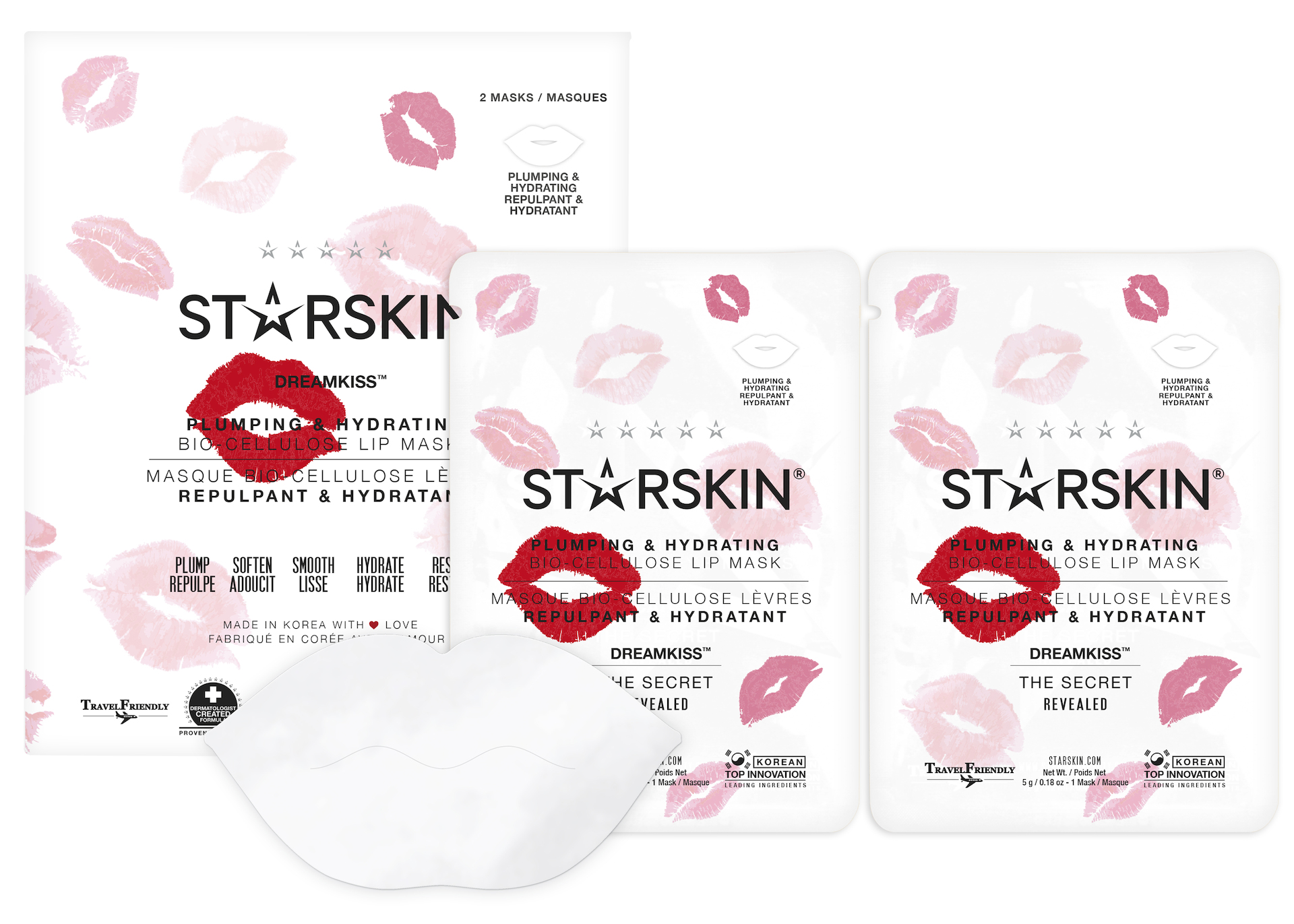 Dreamkiss Coconut Bio Cellulose Second Skin Lip mask