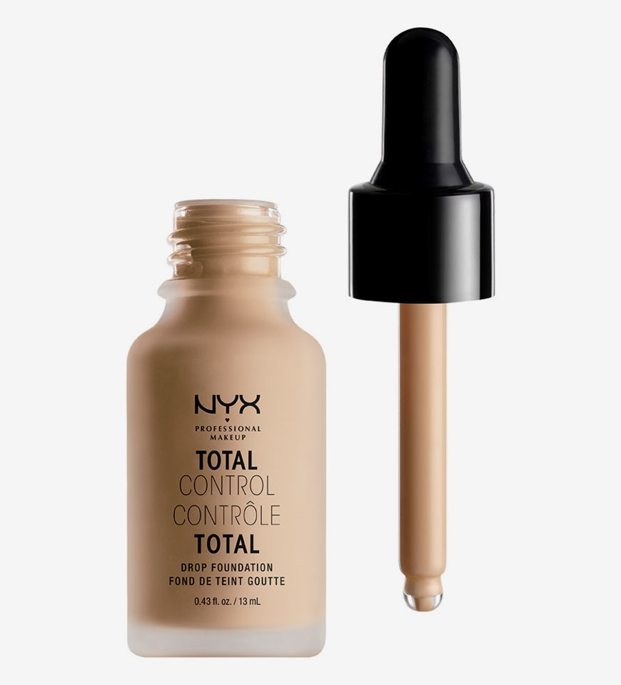 Total Control Drop Foundation 07 Natural
