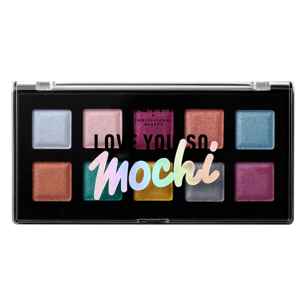 Love You So Mochi Eye Shadow Palette Electric Pastels