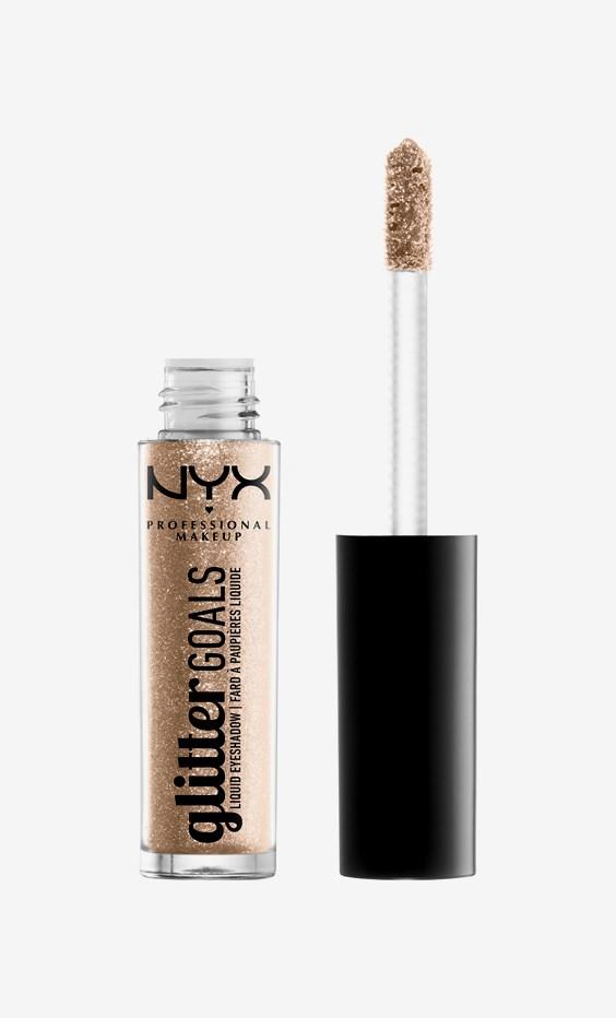 Glitter Goals Liquid Eyeshadow 02 Polished Pin Up