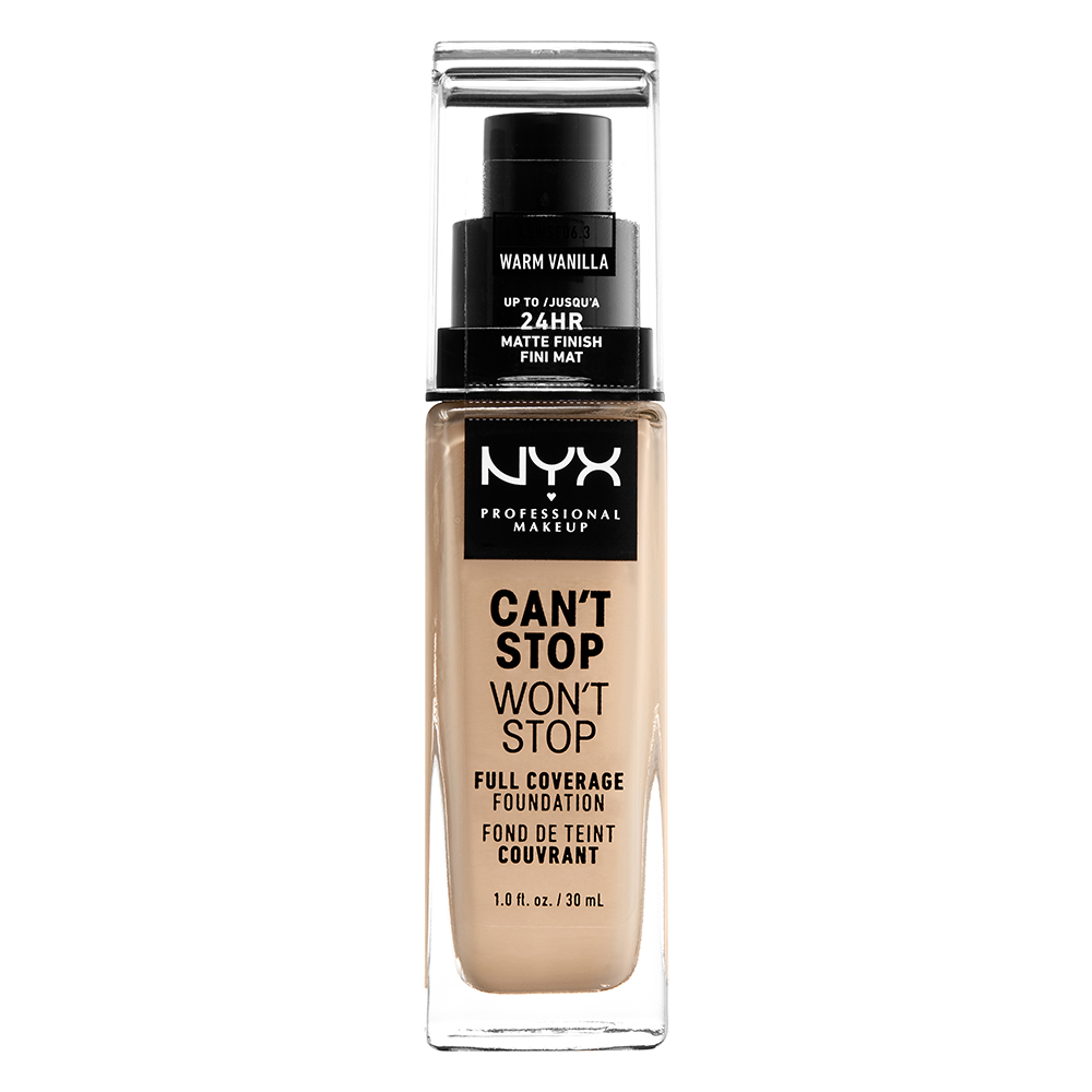 Cant Stop Wont Stop Foundation Warm Vanilla