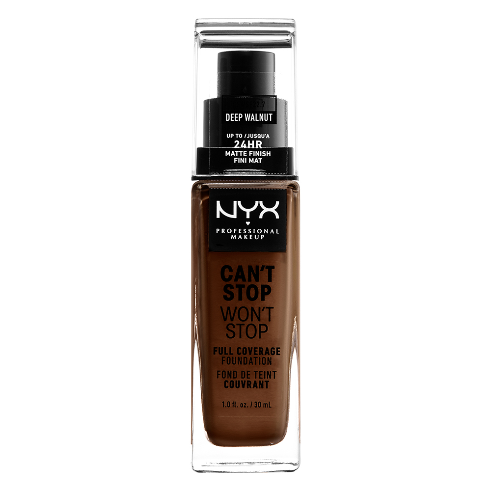 Cant Stop Wont Stop Foundation Deep Walnut