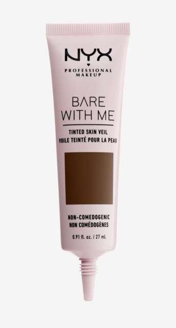 Bare With Me Tinted Skin Veil Foundation Deep Rich. NYX Professional Makeup
