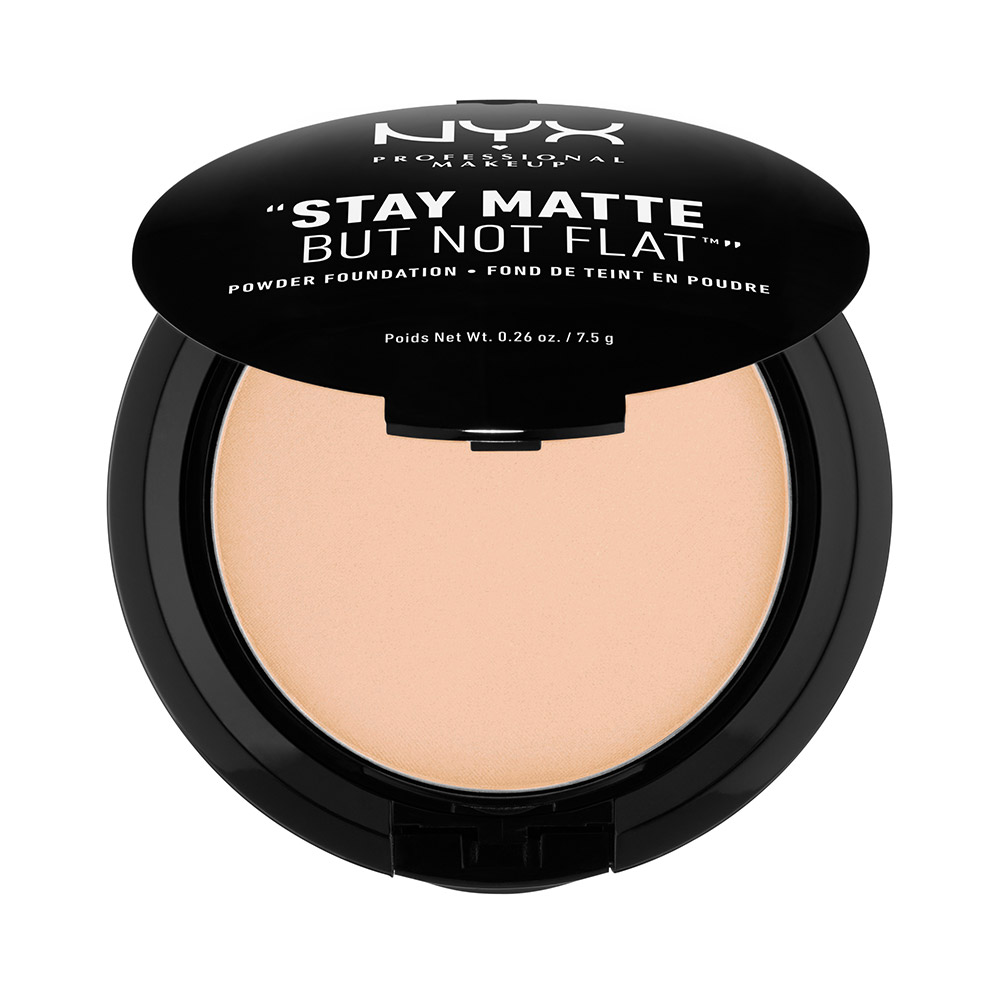 Stay Matte But Not Flat Powder Foundation Natural