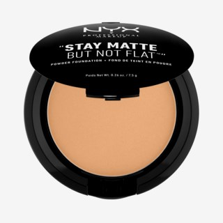 Stay Matte But Not Flat Powder Foundation Soft Beige.