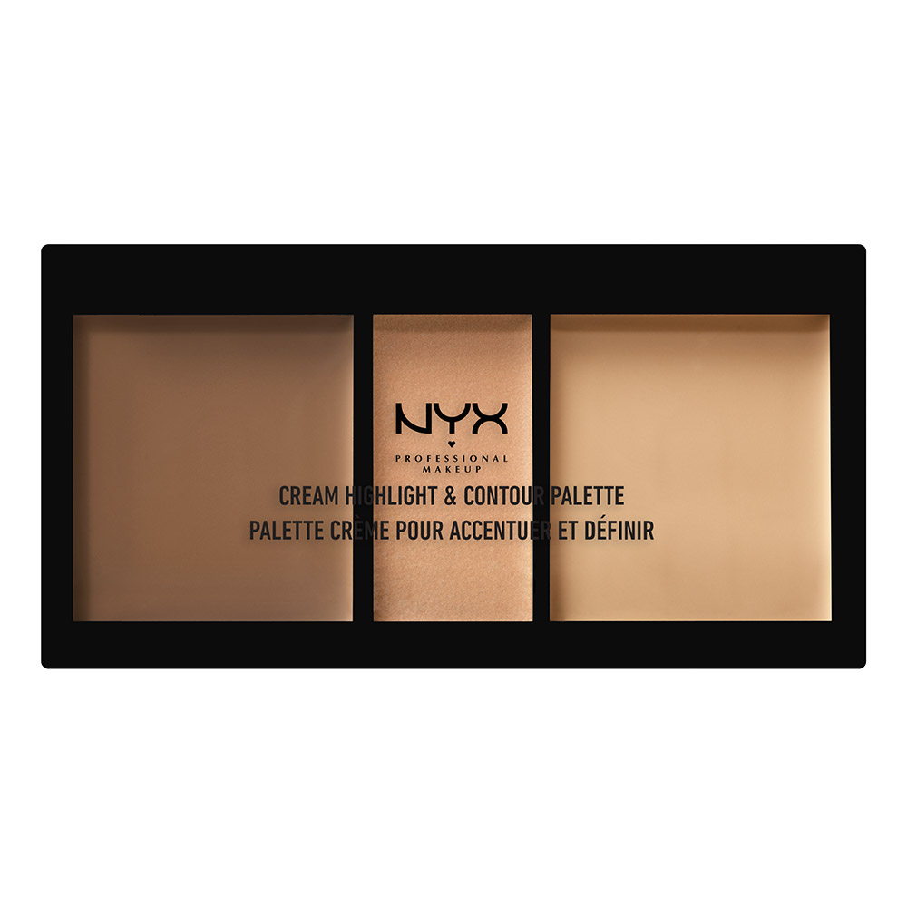 Cream Highlight & Contour Palette Medium