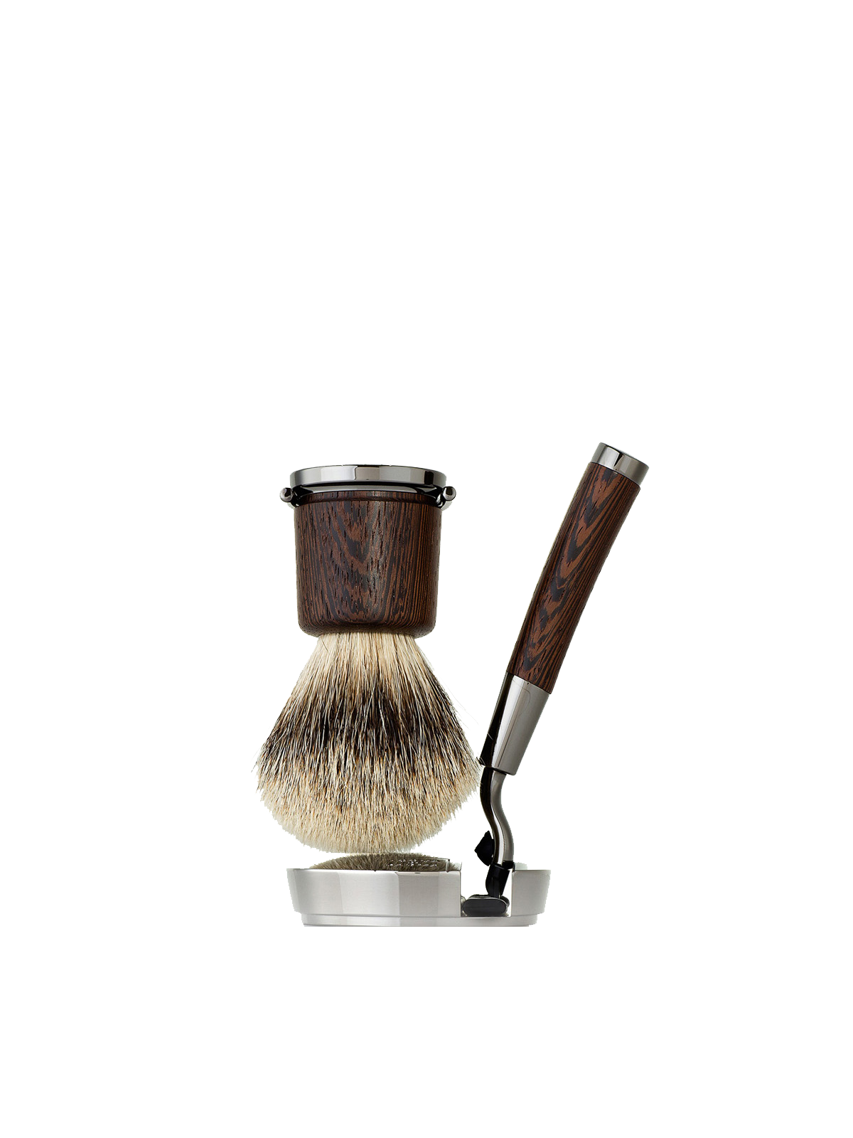 Shaving Brush and Razor