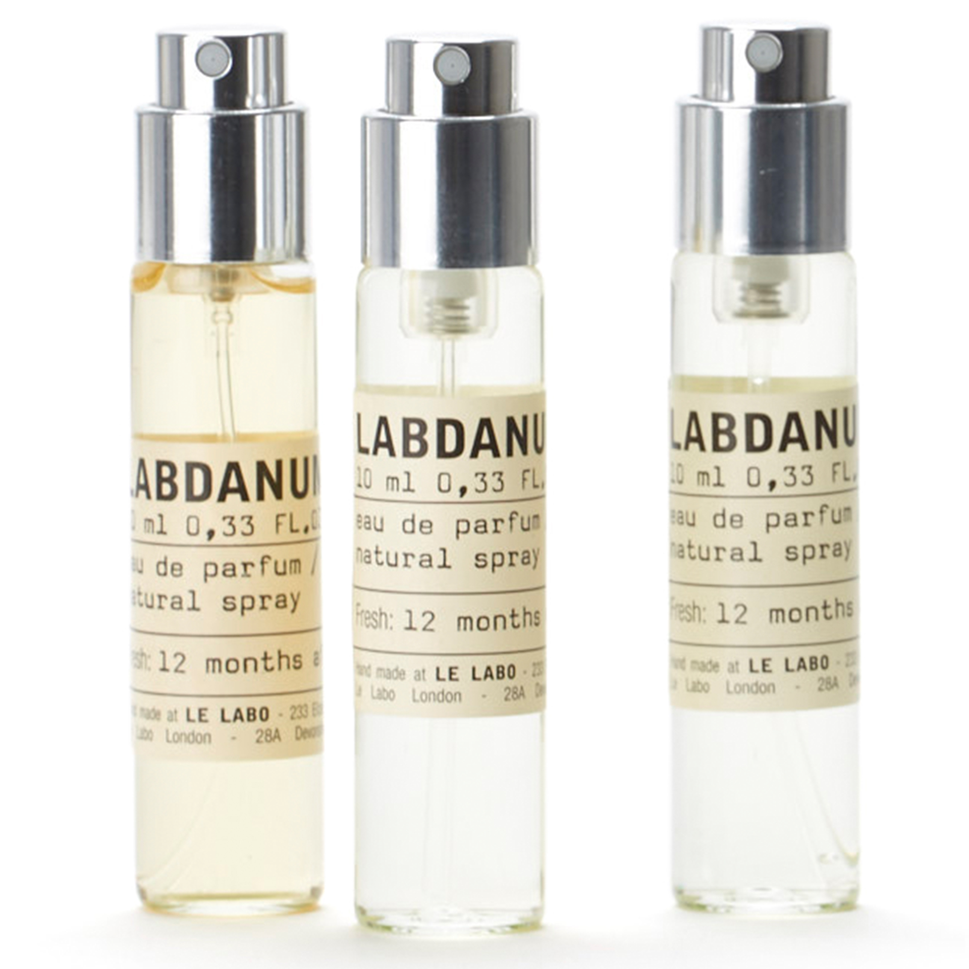 Labdanum 18 Travel Tube Edp Refill 10 ml