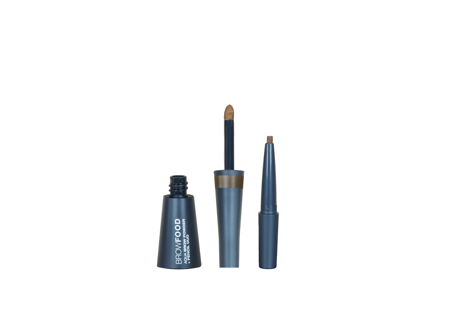 BrowFood Aqua Brow Powder + Pencil Duo Dark Blonde