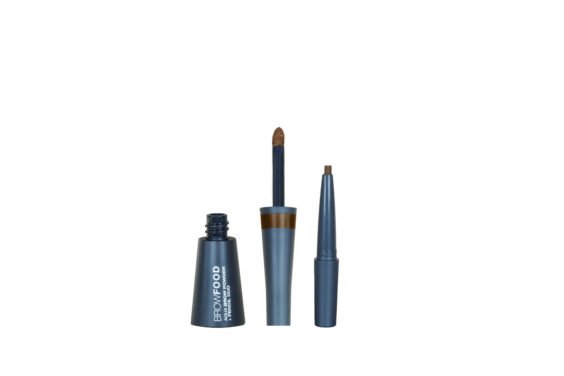 BrowFood Aqua Brow Powder + Pencil Duo Brunette
