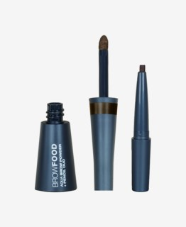 Browfood Aqua Brow Powder + Pencil Duo Dark Brunette