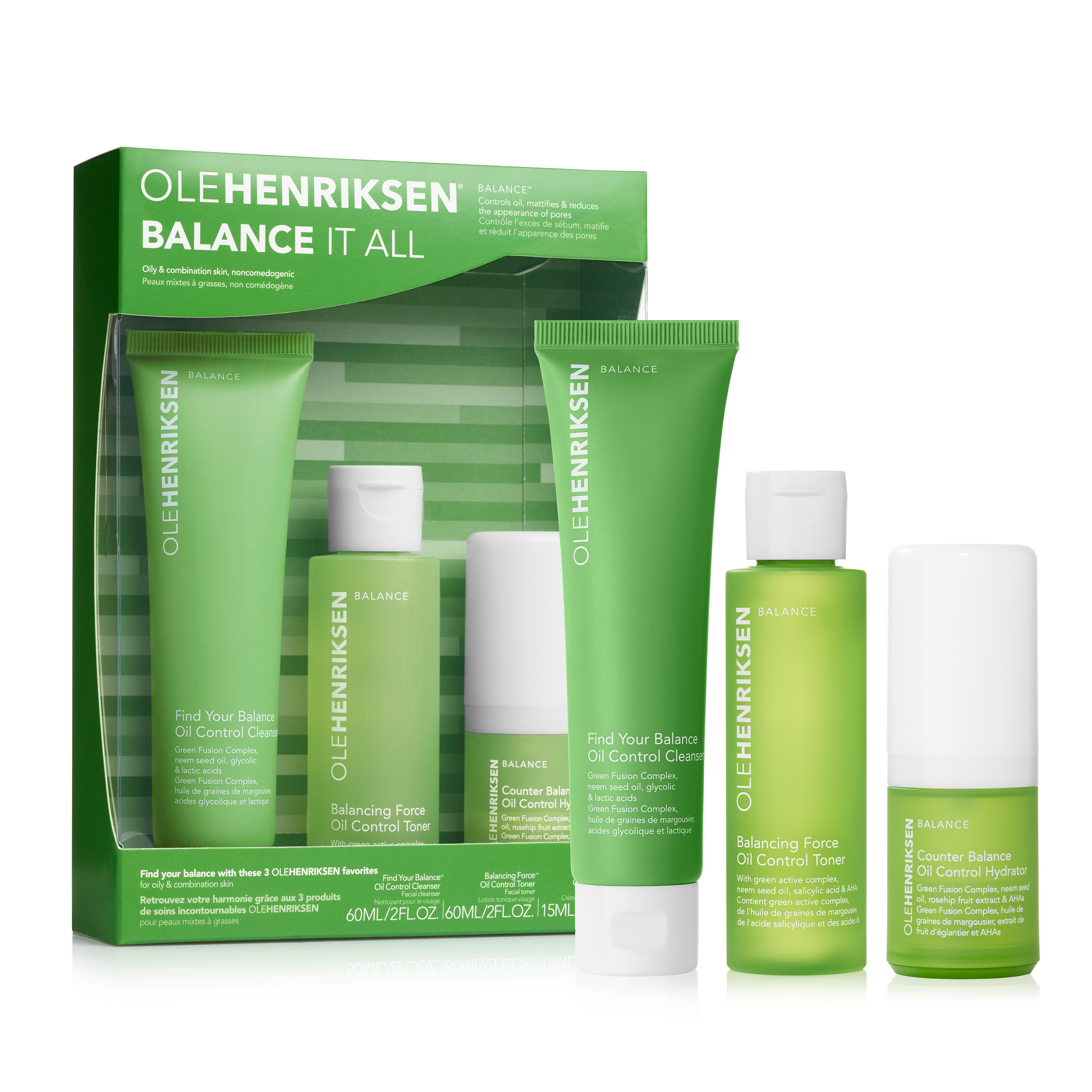 Balance it All - Oil Control and Pore-refining Set Set
