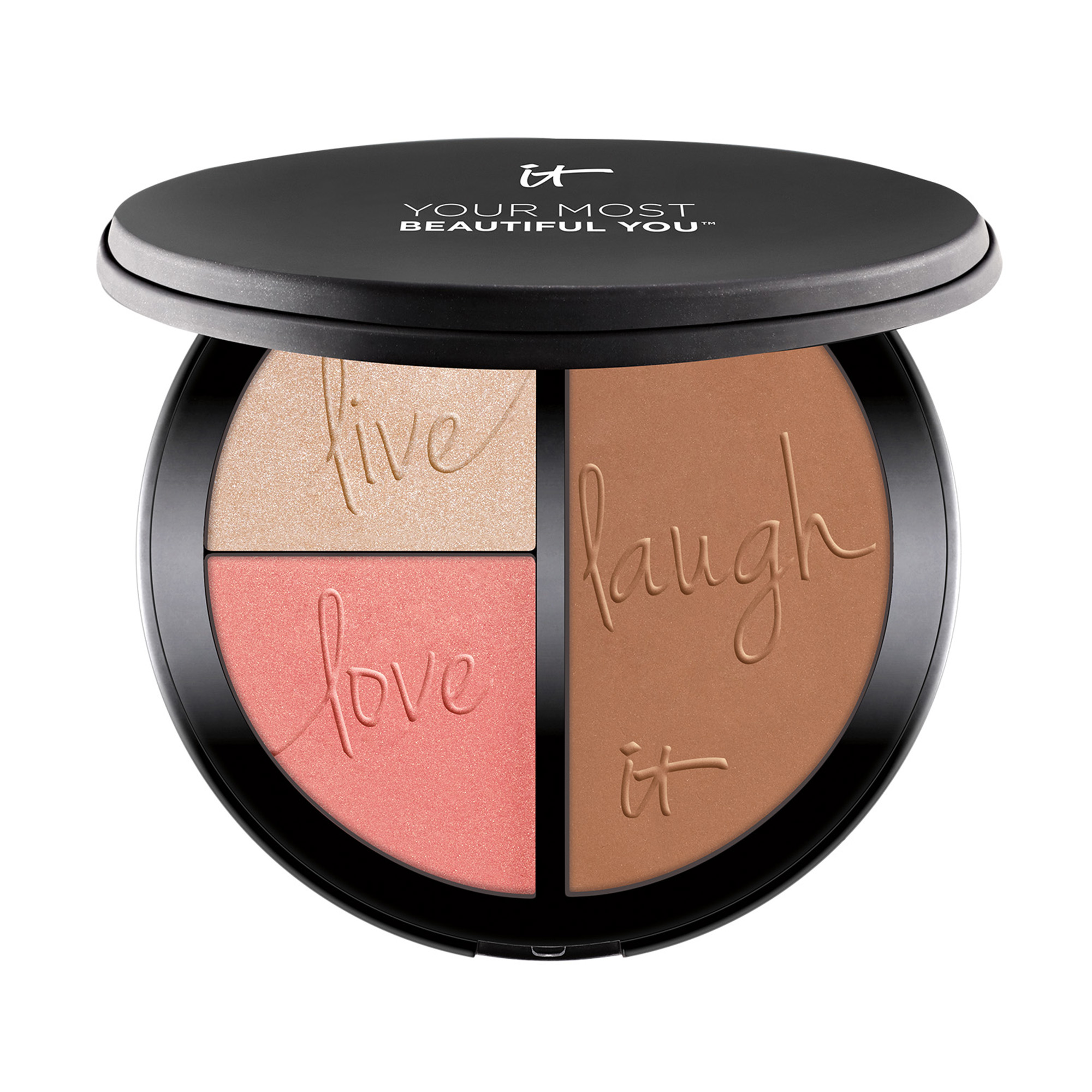 Your Most Beautiful You™  3-in-1 : Bronzer, Highlighter &  Blush Palette