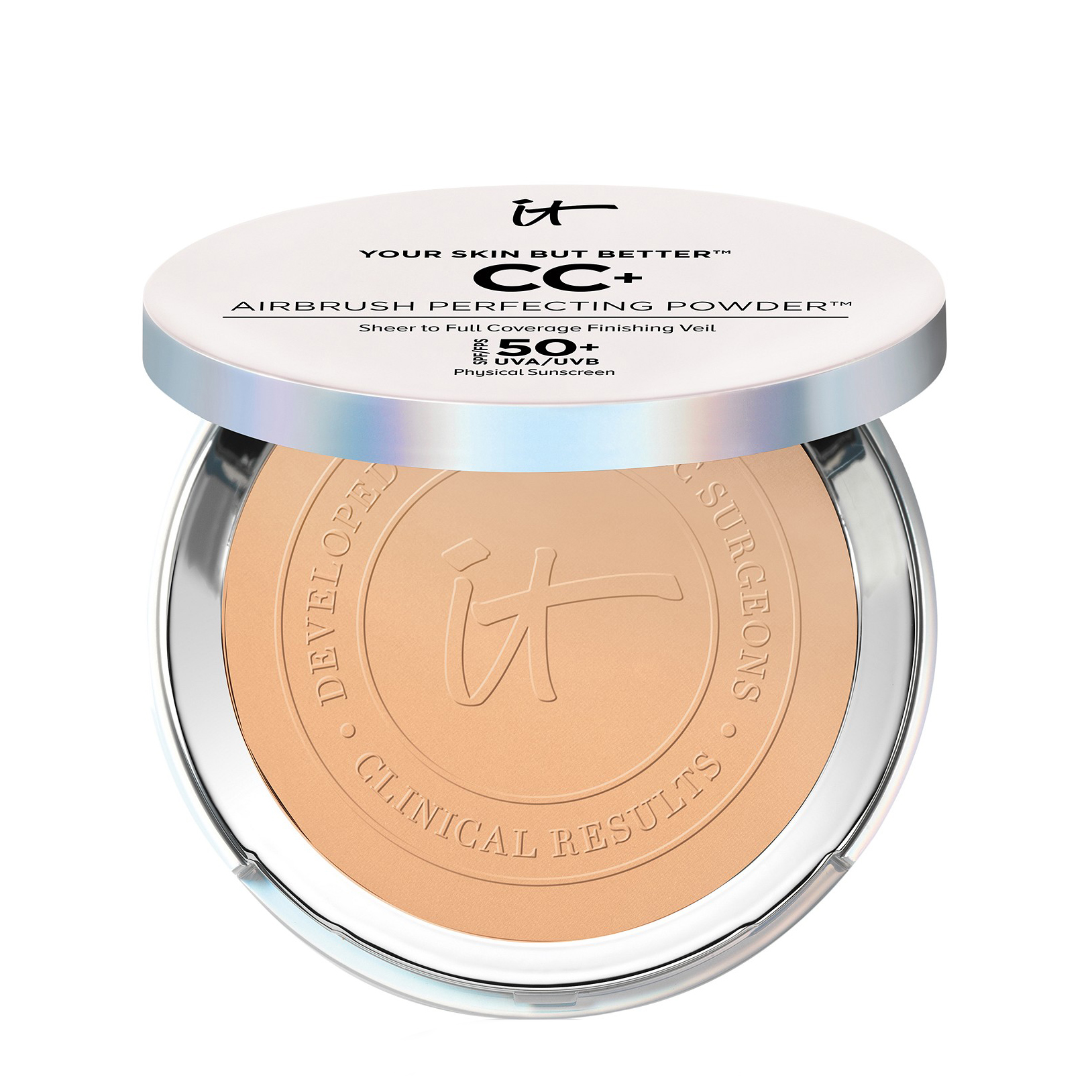 Your Skin But Better™ CC+ Airbrush Perfecting Powder™ SPF 50+ Medium Tan