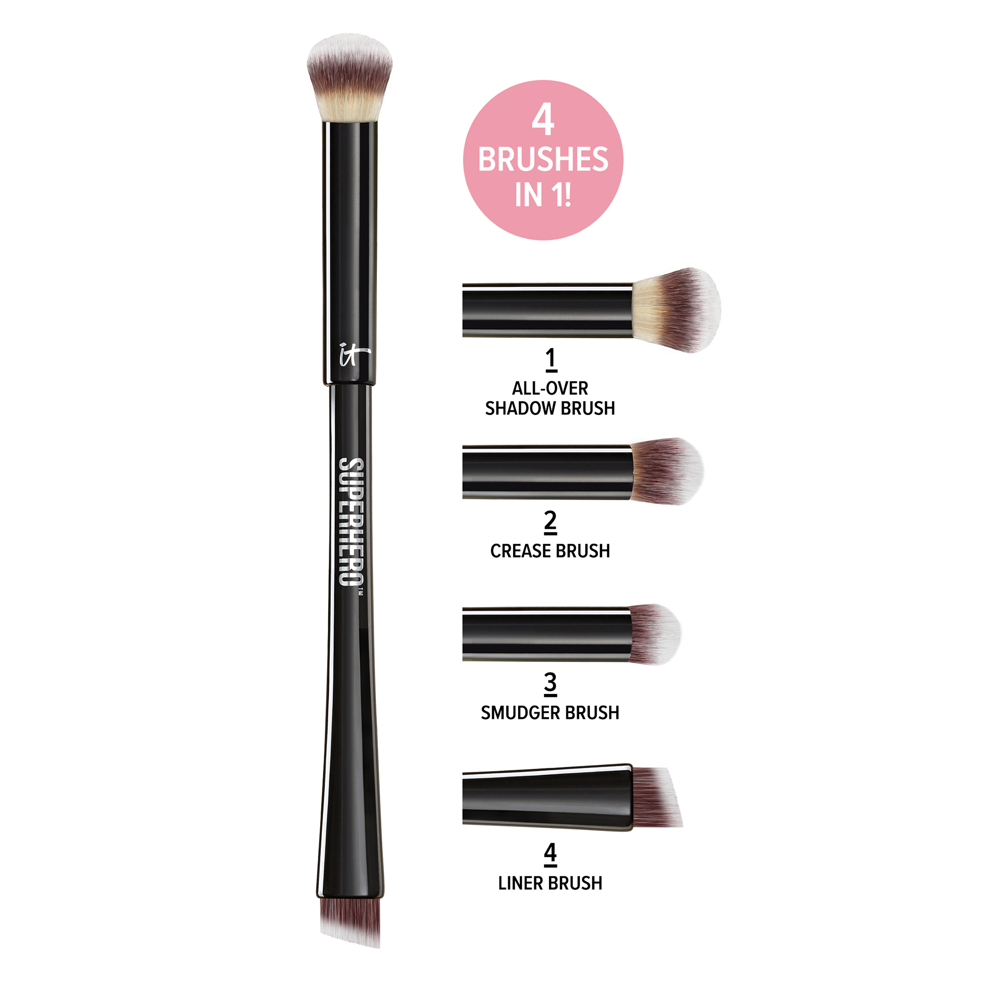 Superhero 4-in-1 Transforming Super Shadow & Liner Brush