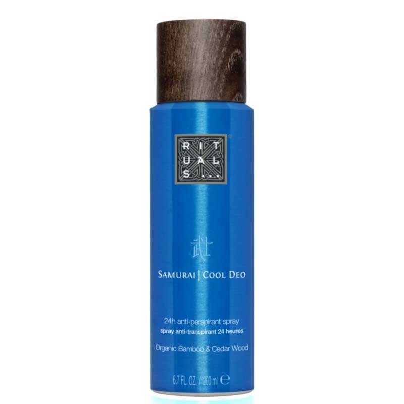 Samurai Cool Deo spray antiperspirant spray