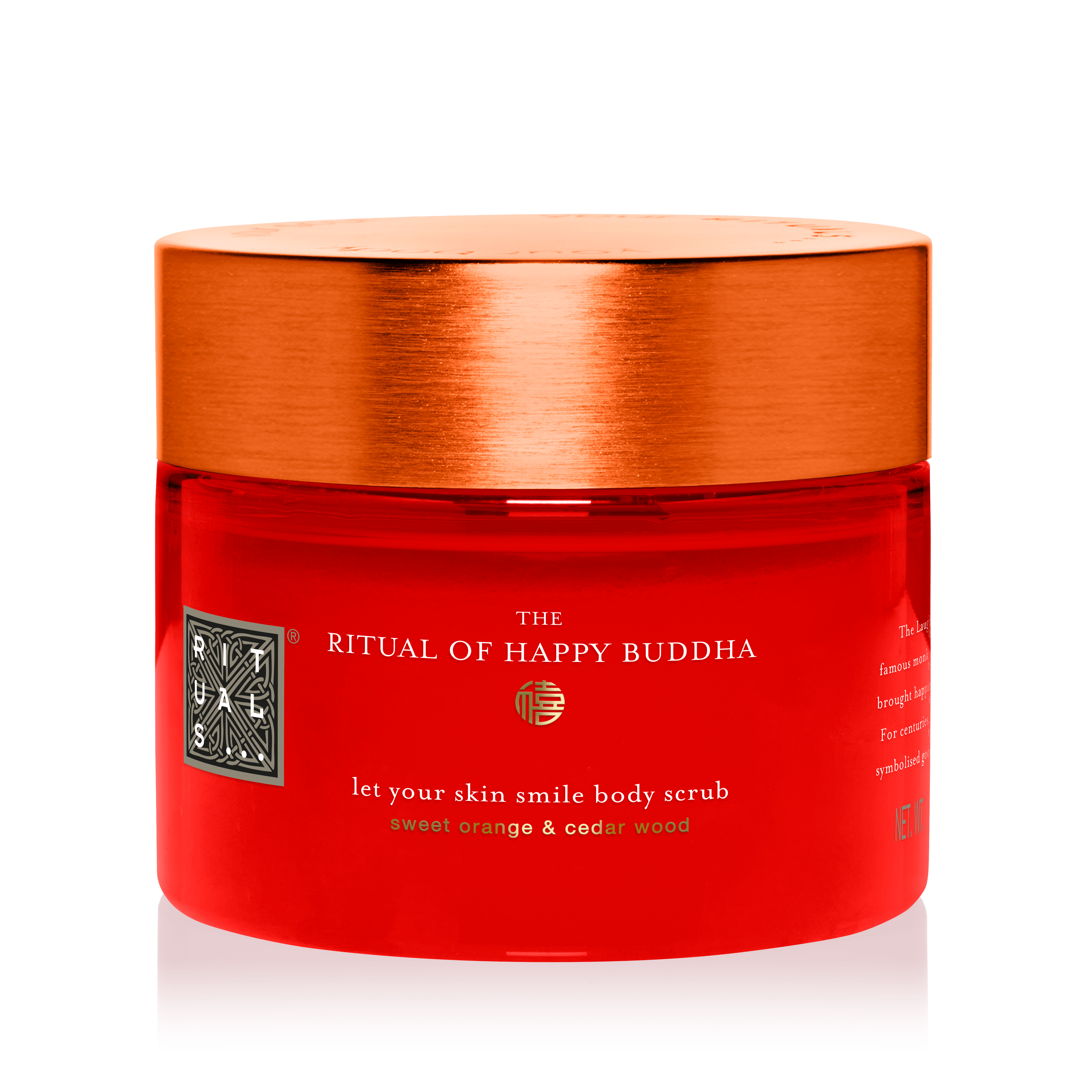 The Ritual of Happy Buddha Body Scrub 375 gr