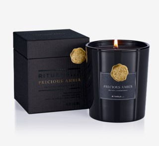 Luxury Scented Candle Precious Amber 360g