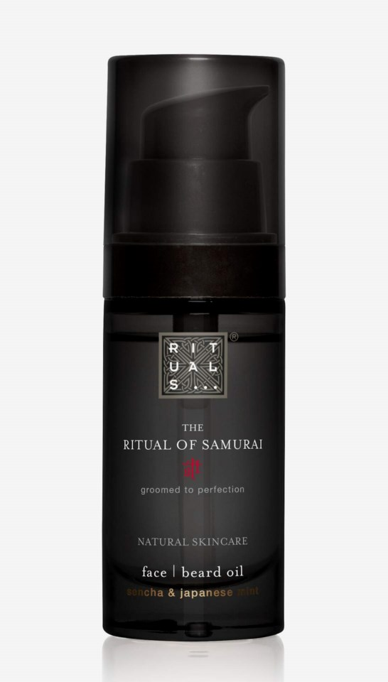The Ritual Of Samurai Beard Oil 30 ml
