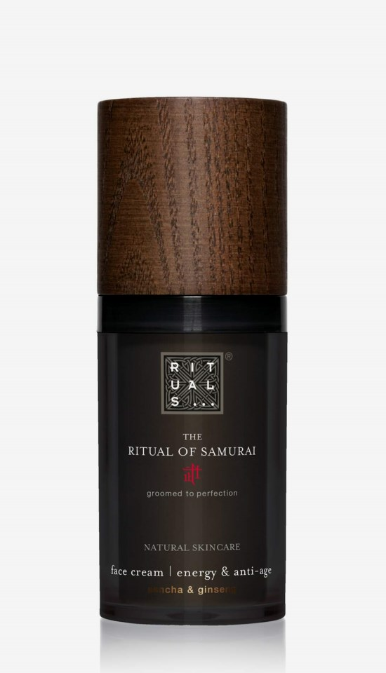 The Ritual Of Samurai Energy & Anti-Age Face Cream 50ml