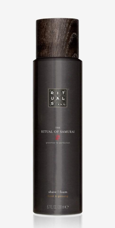 The Ritual Of Samurai Shave Foam 200ml