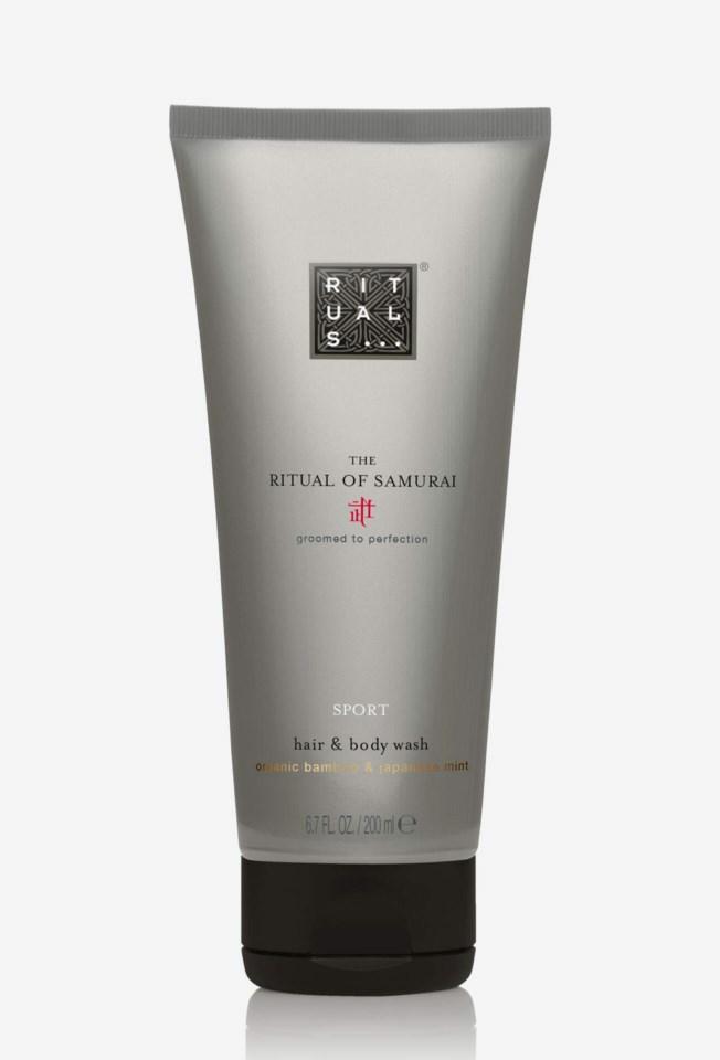 The Ritual Of Samurai Hair & Body Wash 200ml