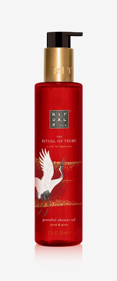 The Ritual Of Tsuru Shower Oil 200ml