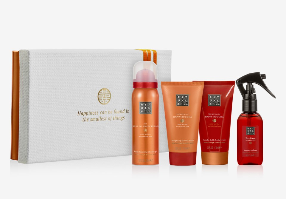 The Ritual Of Happy Buddha - Energising Treat Gift Box